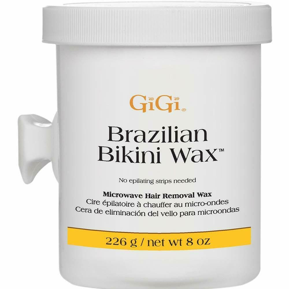 2X GiGi BRAZILIAN BIKINI WAX 8 oz (226 g) MICROWAVE Formula Gently Hair Removal - FLJ CORPORATIONS