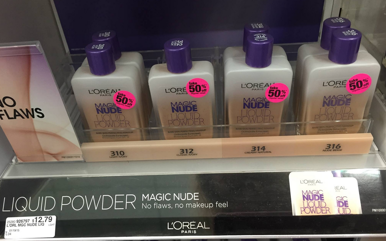 Loreal Magic Nude Liquid Powder Foundation - FLJ CORPORATIONS