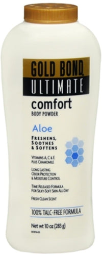 2 Pack - Gold Bond Ultimate Comfort Body Powder 10 oz - FLJ CORPORATIONS