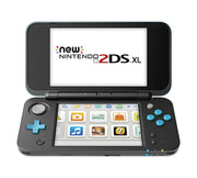 Nintendo 2DS XL Portable Gaming Console, Black & Turquoise - FLJ CORPORATIONS