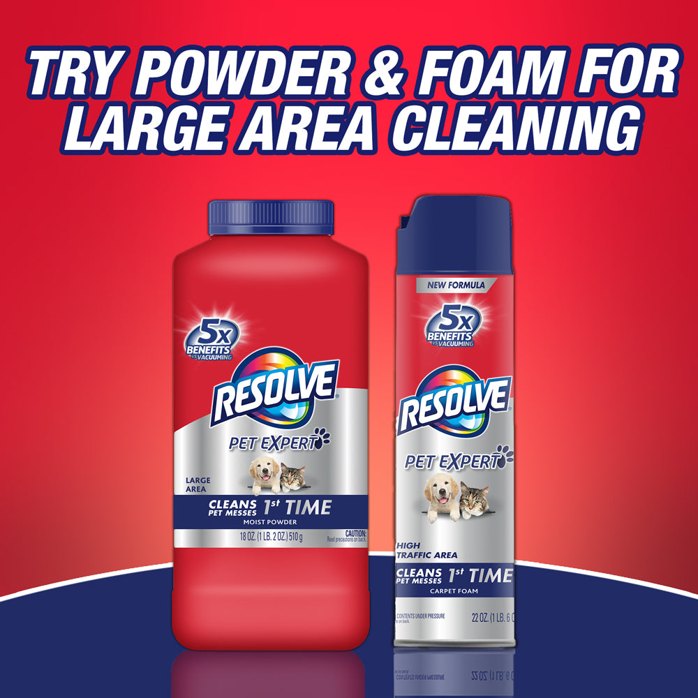 Resolve Carpet Cleaner Spray Spot & Stain Remover, 22oz - FLJ CORPORATIONS