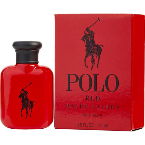 Ralph Lauren Polo Red Eau De Toilette Spray, Cologne for Men, 0.5 Oz - FLJ CORPORATIONS