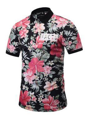 Floral Printed Summer  Shirt Hawaii Vocation Fashion  Shirts Man's New Style Casual