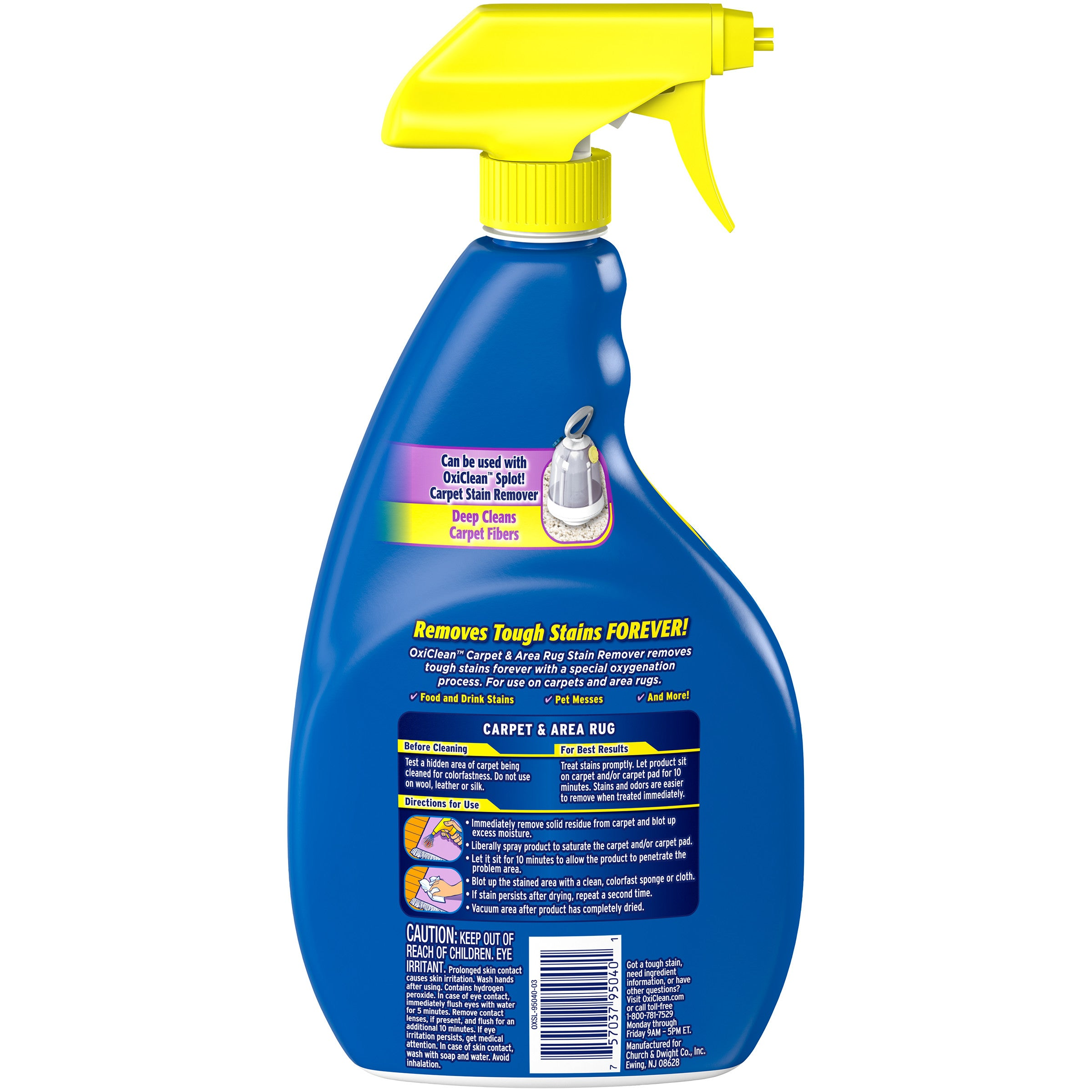 OxiClean Carpet & Area Rug Stain Remover Spray, 24 oz. - FLJ CORPORATIONS