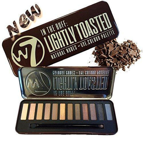 W7 In The Buff Lightly Toasted Eye Colour Palette - FLJ CORPORATIONS