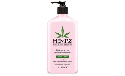 Hempz Pomegranate Herbal Moisturizer -17 oz. - FLJ CORPORATIONS