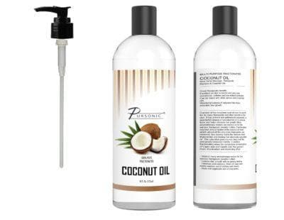 Pursonic 100% Pure Fractionated Coconut Oil, 16 Oz - FLJ CORPORATIONS