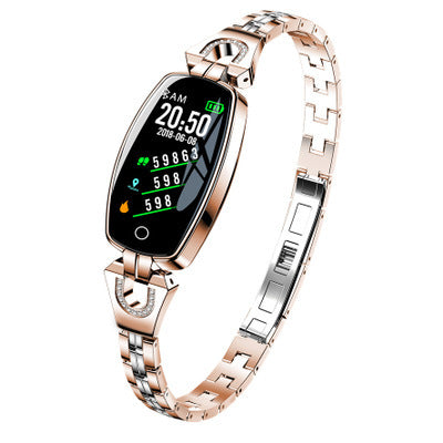 Women's bracelet ECG HD color weather forecast waterproof heart rate blood pressure health test female - FLJ CORPORATIONS