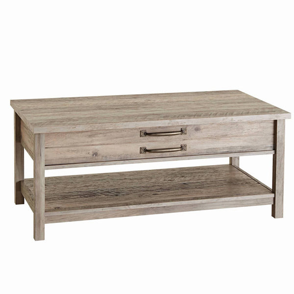 Better Homes & Gardens Modern Farmhouse Lift-Top Coffee Table, Rustic Gray Finish - FLJ CORPORATIONS
