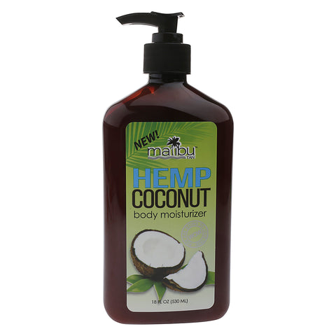 Malibu Tan Hemp Coconut Body Moisturizer - FLJ CORPORATIONS