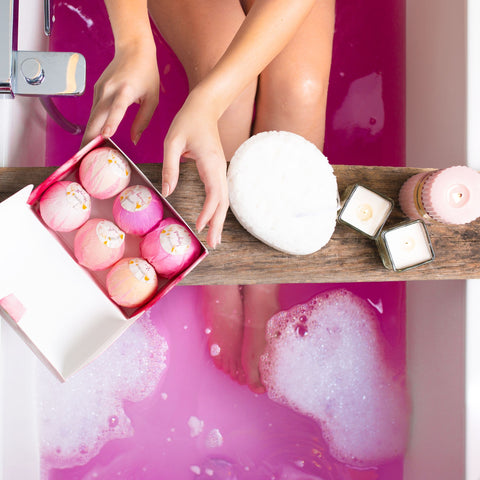 Premium Nature Bath Bombs Gift Set, 6 Count - FLJ CORPORATIONS