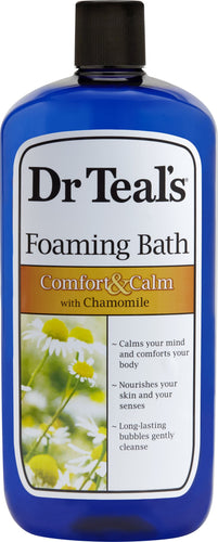 (2 pack) Dr Teal's Foaming Bubble Bath with Pure Epsom Salt and Chamomile, 34 fl oz - FLJ CORPORATIONS