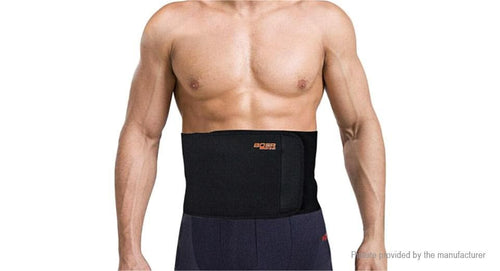 BOER Sports Fitness Waist Lumbar Back Support Belt (Size L) - FLJ CORPORATIONS