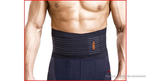 BOER Sports Fitness Waist Lumbar Back Support Belt (Size XL) - FLJ CORPORATIONS
