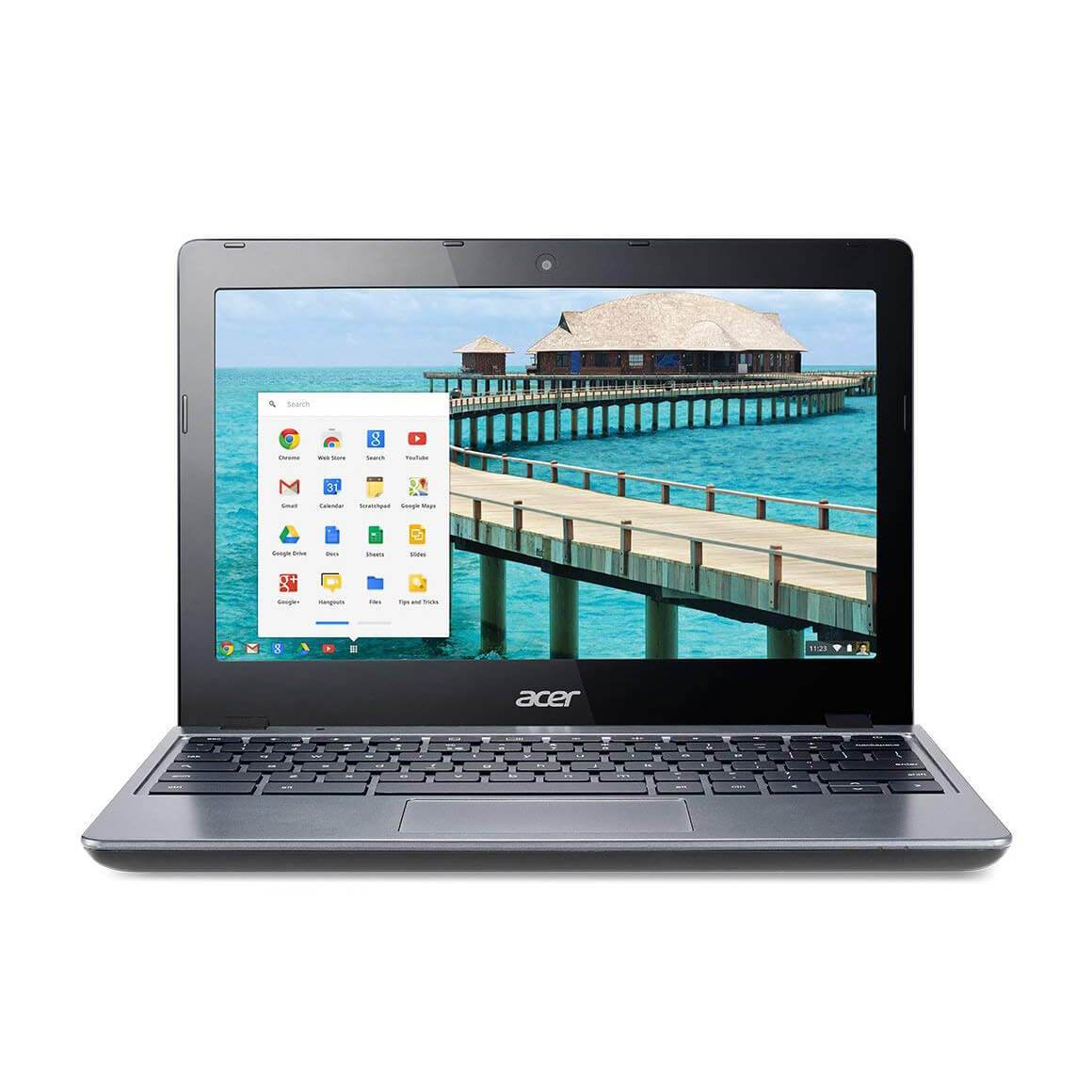 "Refurbished Acer C720-2103 11.6"" LED Chromebook Intel Celeron 1.4Ghz Dual Core 2GB 16GB SSD - FLJ CORPORATIONS"