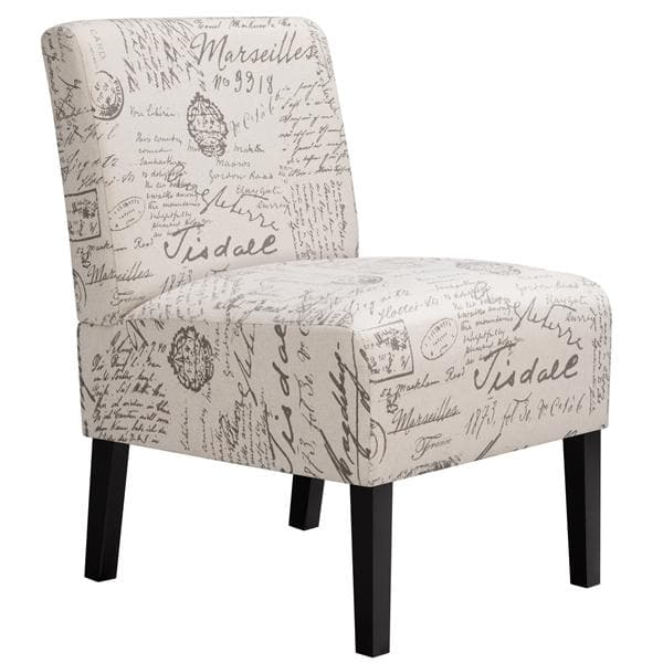 Fabric Accent Chair Sofa Chair Upholstered Dining Chair for Living Room/Bedroom/Sitting Room/Kitchen/Hallway - FLJ CORPORATIONS
