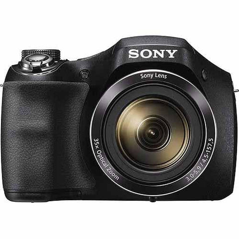 Sony Black DSC-H300/B Digital Camera with 20.1 Megapixels and 35x Optical Zoom - FLJ CORPORATIONS