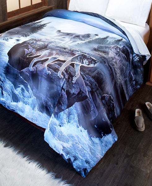 Wolf Pack Comforter or Sham - FLJ CORPORATIONS