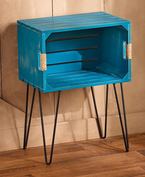 Rustic Wooden Crate End Tables - FLJ CORPORATIONS