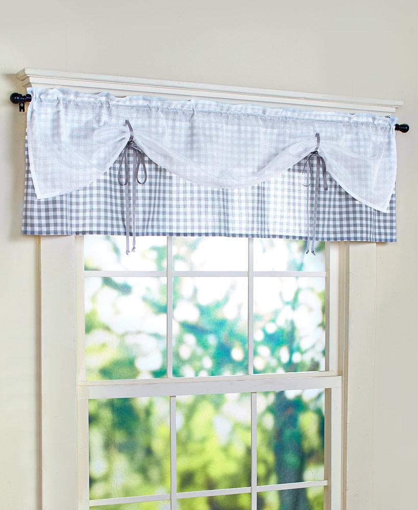 Checkmate Tier Pairs or Valances - FLJ CORPORATIONS
