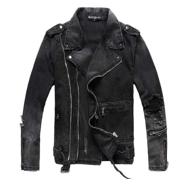 Balmain Designer Jacket Fashion Coat Men Women Denim Coat Casual Hip Hop Designer Jacket Mens Clothing Size M-4XL - FLJ CORPORATIONS