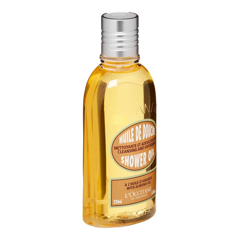 ($25 Value) L'Occitane Cleansing And Softening Shower Oil With Almond Oil, 8.4 Fl Oz - FLJ CORPORATIONS