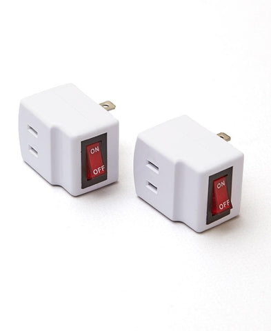 3-Outlet Splitter or Adapters with OnOff Switch - FLJ CORPORATIONS