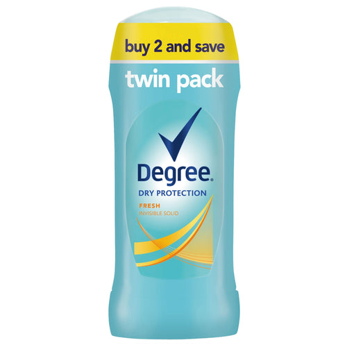 Degree Dry Protection Fresh Antiperspirant Deodorant, 2.6 oz, Twin Pack - FLJ CORPORATIONS