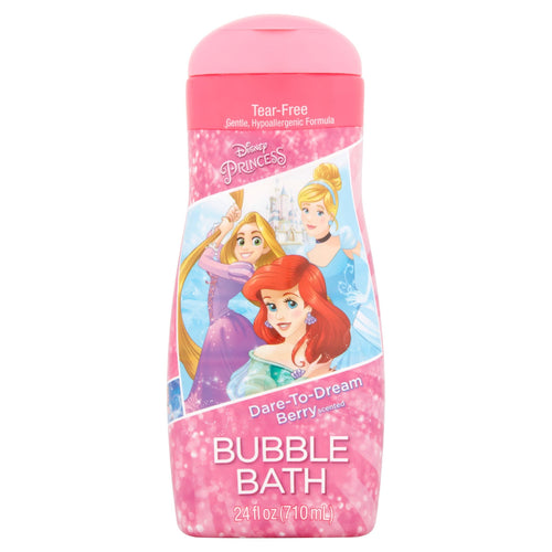 Disney Princess Dare-to-Dream Berry Scented Bubble Bath, 24 fl oz - FLJ CORPORATIONS