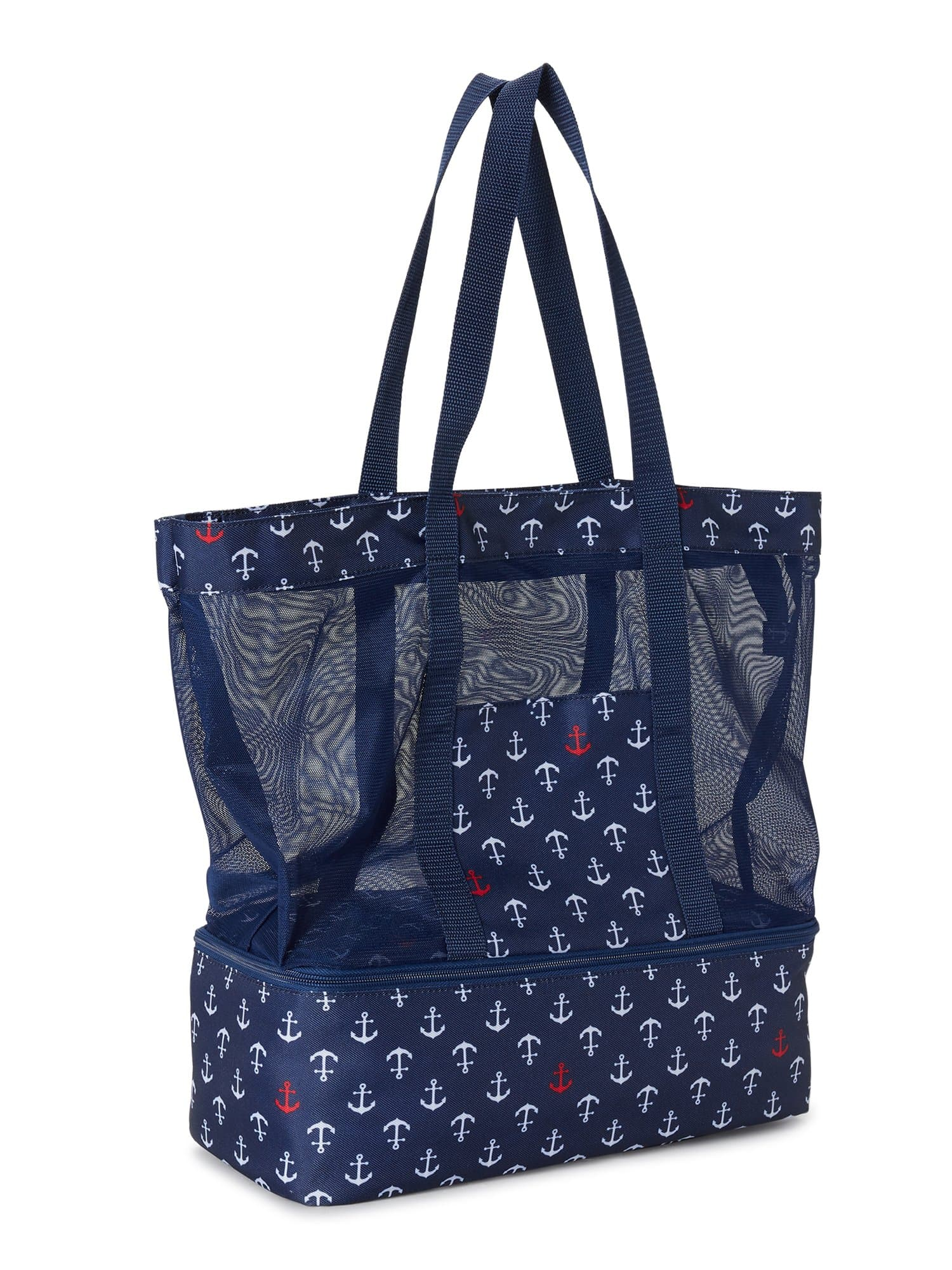 Mesh Zip Tote Bag - FLJ CORPORATIONS