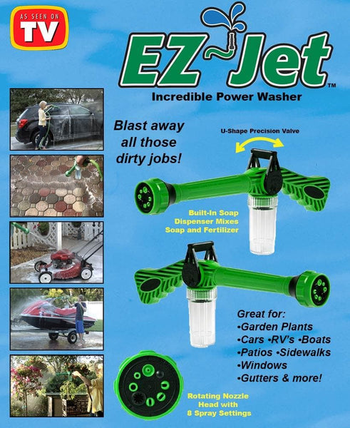 2-Pk. EZ Jet™ Water Cannons - FLJ CORPORATIONS