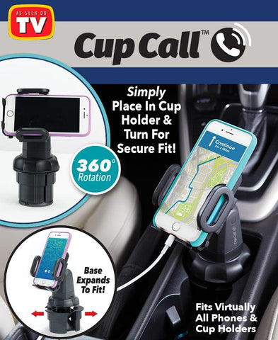 Cup Call™ Cup Holder Phone Mount - FLJ CORPORATIONS
