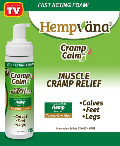 Hempvana® Cramp Calm - FLJ CORPORATIONS
