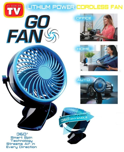 Cordless Rechargeable Fan - FLJ CORPORATIONS
