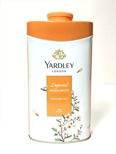 Yardley London Perfumed Talc Sandalwood Talcum Body Powder 8.8 Oz (250 G) - FLJ CORPORATIONS