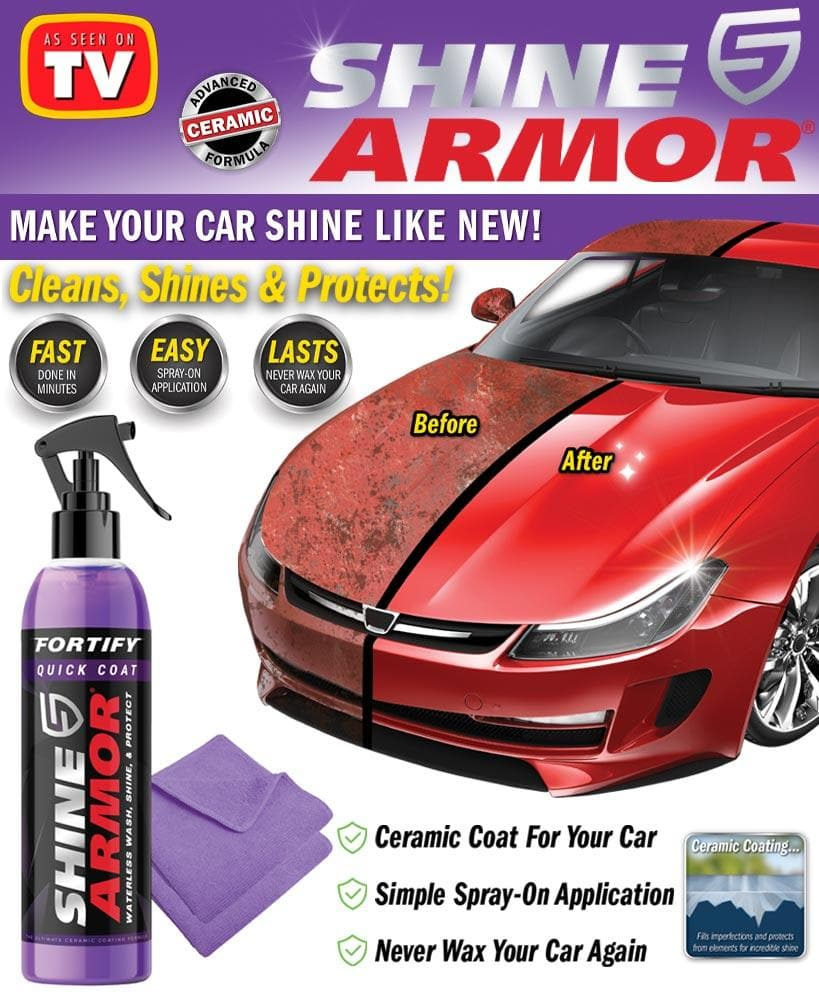 Shine Armor® Wash Kit - FLJ CORPORATIONS
