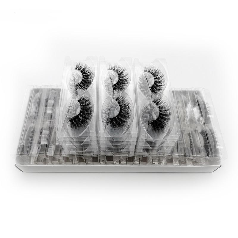 30 pairs eyelashes natural long 3d mink lashes wholesale false eyelashes makeup mink eyelashes eyelash extensions - FLJ CORPORATIONS