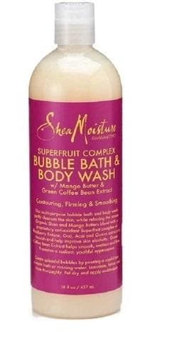 SheaMoisture Fruit Fusion Coconut Water Energizing Bubble Bath & Body Wash, 16 fl oz - FLJ CORPORATIONS
