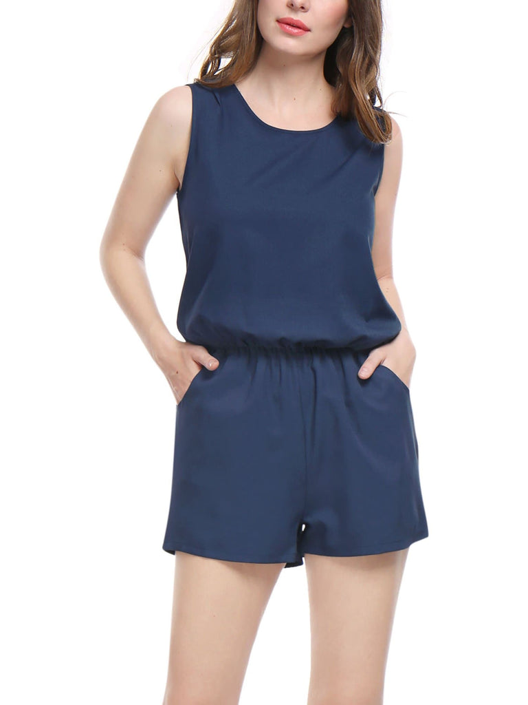 Back Casual Summer Romper - FLJ CORPORATIONS
