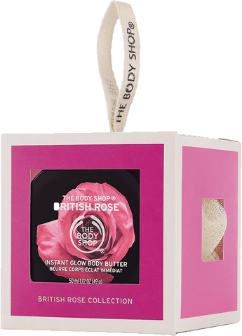 The Body Shop British Rose Treats Cube Bath & Body Gift Set, 3 pc. - FLJ CORPORATIONS