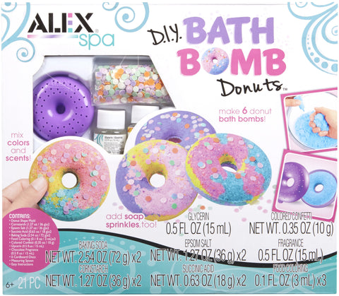 Alex Spa DIY Bath Bomb Donuts Kit - FLJ CORPORATIONS