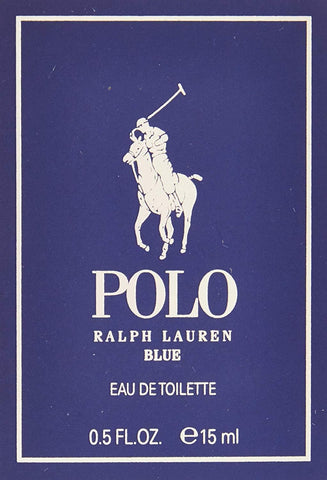 Ralph Lauren Polo Blue Eau De Toilette Spray, Cologne for Men, 0.5 Oz - FLJ CORPORATIONS