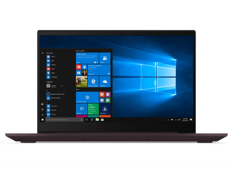 "Lenovo ideapad S340 15.6"" Laptop, Intel Core i5-8265U Quad-Core Processor, 8GB Memory, 128GB Solid State Drive, Windows 10 - Dark Orchid - 81N800SLUS"