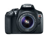 Image of Canon EOS Rebel T6 EF-S 18-55mm + EF 75-300mm Double Zoom Kit - FLJ CORPORATIONS