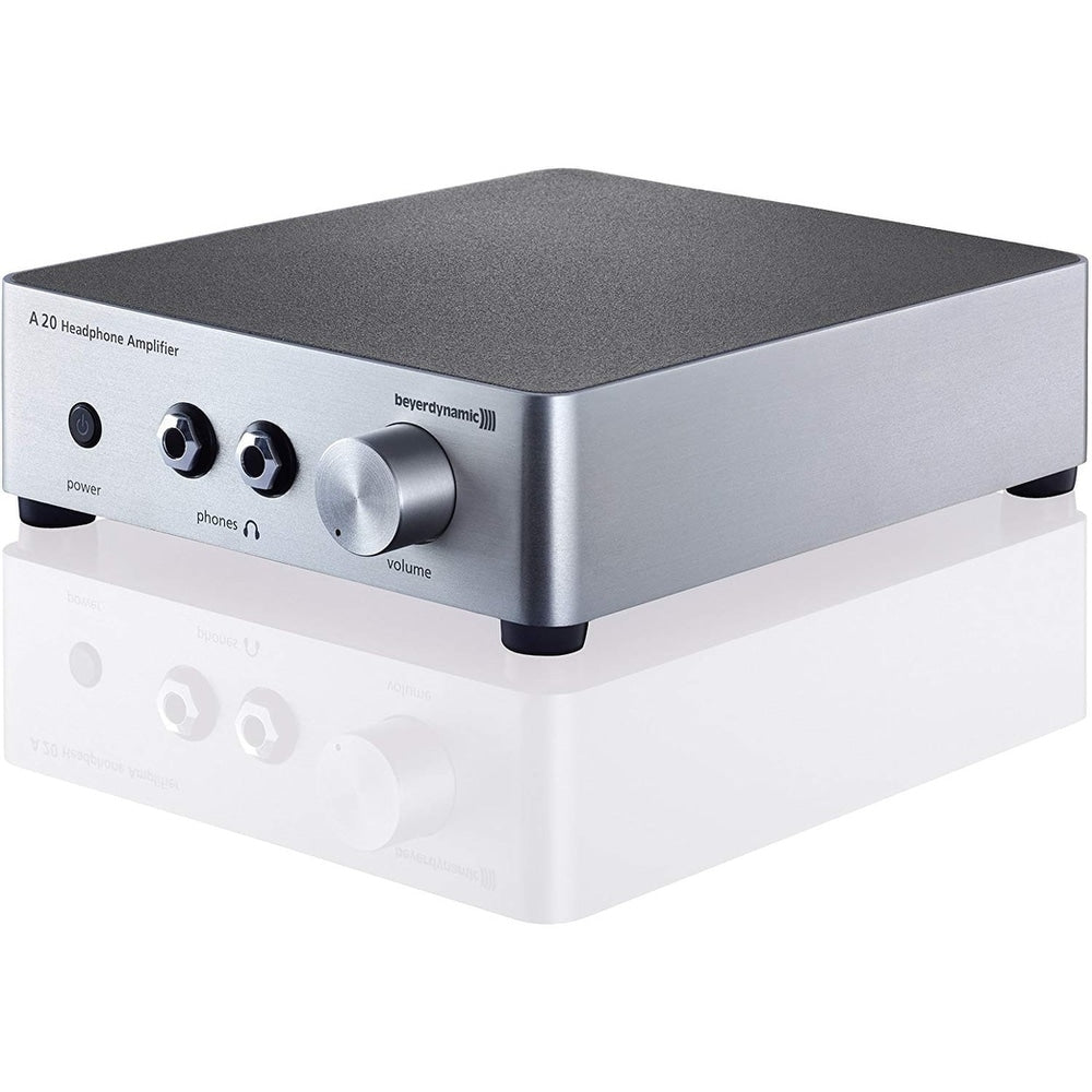 Beyerdynamic A20 Headphone Amplifier, Silver - FLJ CORPORATIONS