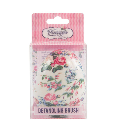 The Vintage Cosmetic Company Detangling Brush Floral - FLJ CORPORATIONS