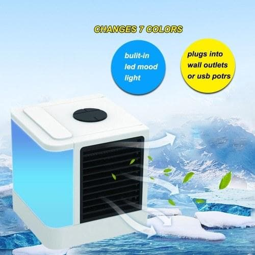 Air Cooler Fan Personal Space Air Cooler Portable USB Air Conditioner Office - FLJ CORPORATIONS