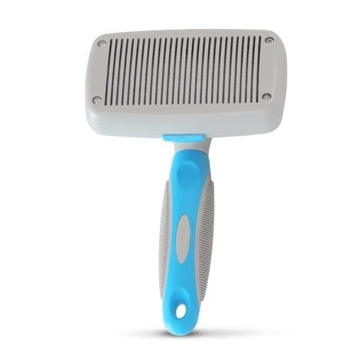Self Cleaning Slicker Brush Dog Brush Pets Push Hair Comb Pet Retractable Grooming Tool Stainless Steel Pins for Dog Cat and - FLJ CORPORATIONS