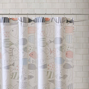 HipStyle Madfish Cotton Shower Curtain - FLJ CORPORATIONS