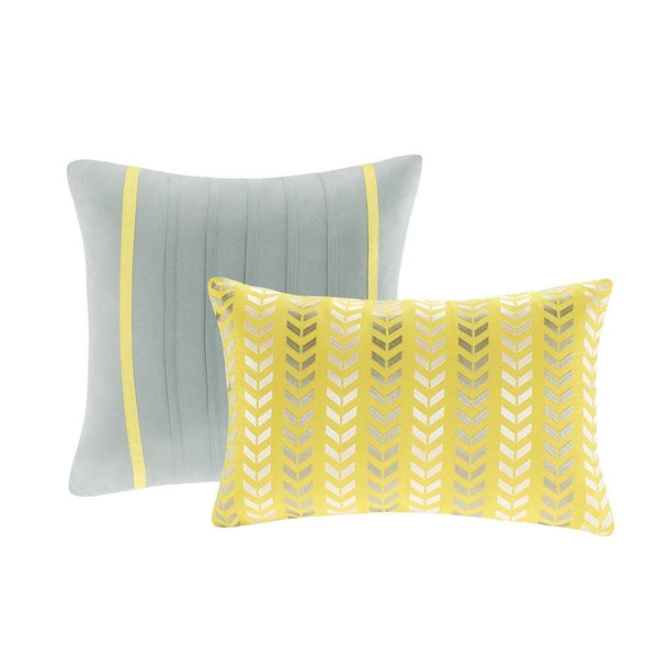 Intelligent Design Elle Chevron 5-piece Comforter Set - Teal - Twin - Twin XL - FLJ CORPORATIONS
